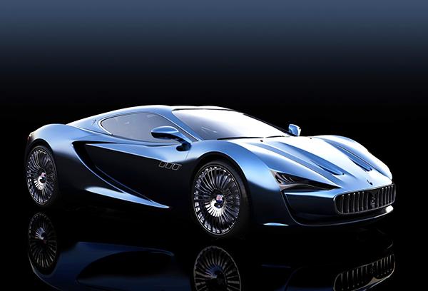 Mouthwatering Maserati