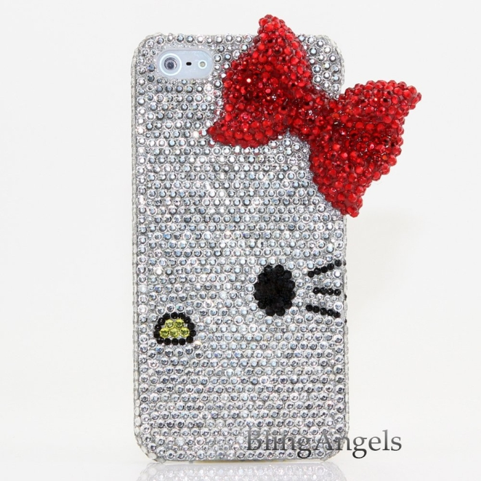 iphone 5 5S 3D Swarovski Luxury Crystal Diamond Case