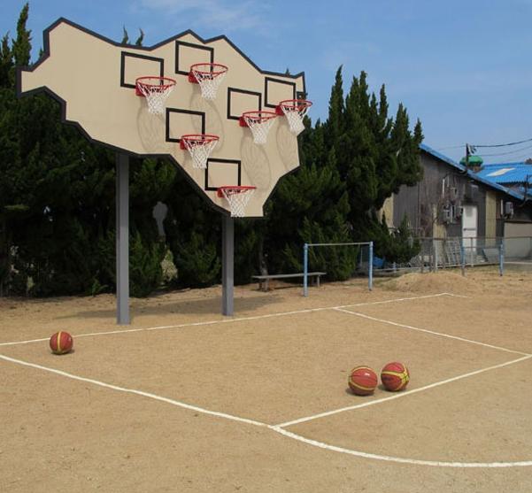 multibasket backboard