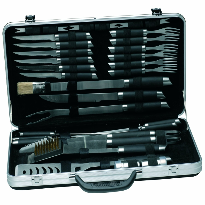 33-Piece BBQ Set In Case