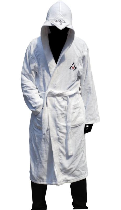 Assassins Creed Embroidery Eagle's Peak Hoodie Bath Unisex Robe