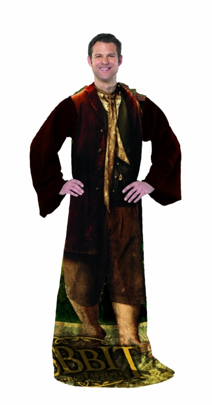 Being The Hobbit Bilbo Baggins Costume Comfy Throw