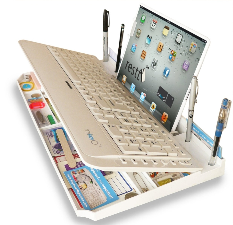 Bluetooth 6 in 1 Keyboard and Organizer