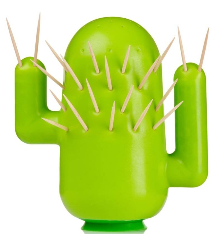 Cactooph Novelty Cactus-Shaped Toothpick Holder Party Accessory