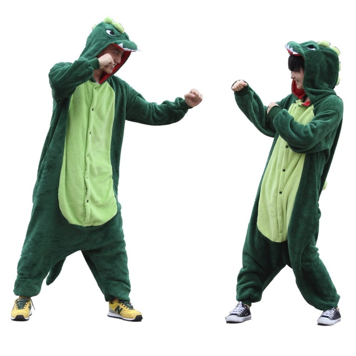 Dinosaur Cosplay Pyjamas Sleepwear Nightclothes Loungewear