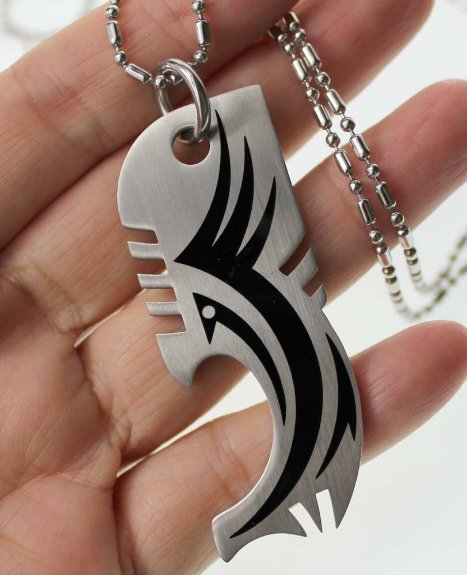 Fish Bottle Opener Necklace