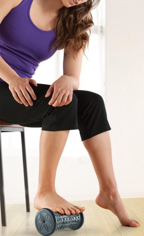 Gaiam Restore HotCold Foot Massage Roller