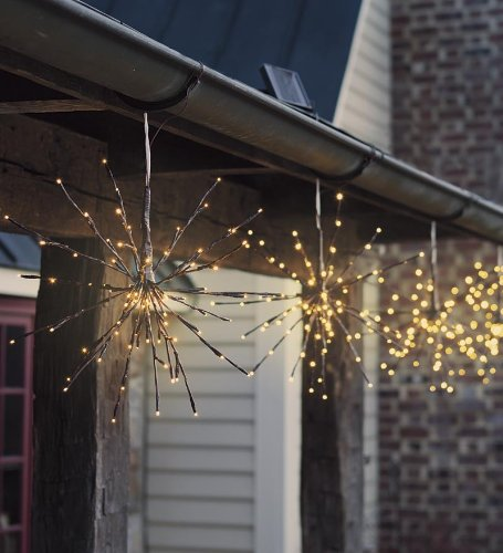 Hanging Solar Twig Lights