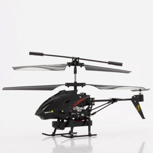 Helicopter with 0.3 Megapixel Camera Controlled by iPhone iPad Android