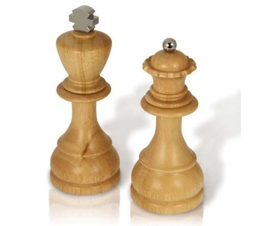 King and Queen SaltPepper Mills