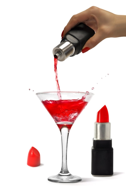 Lip Stick Shaped Flask