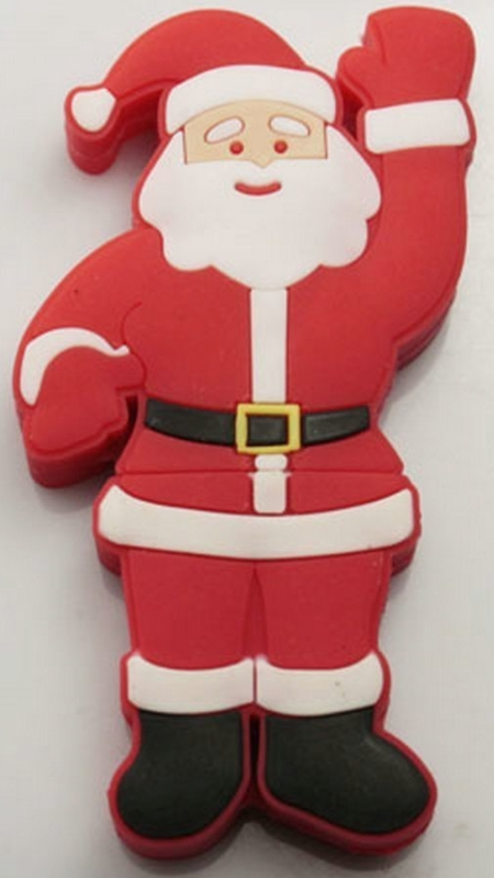 Lovely Santa Claus Model Usb Flash Drive