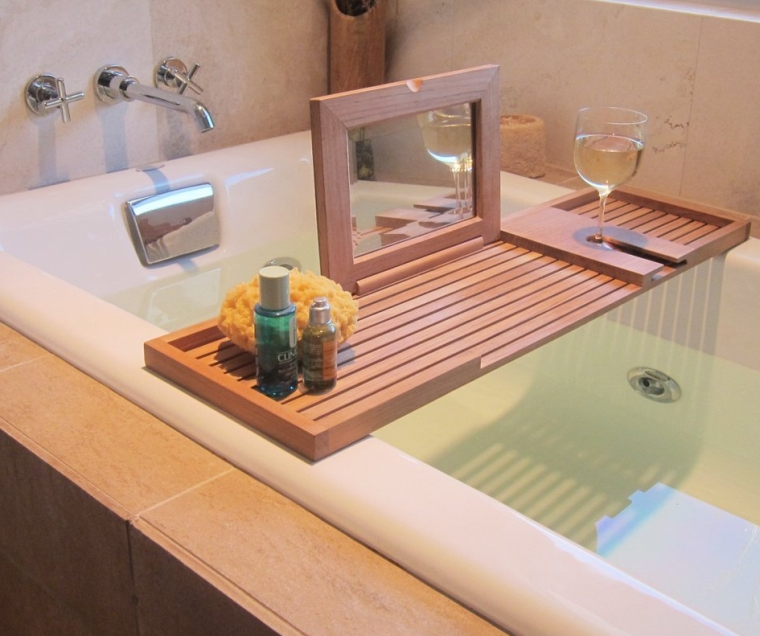 Pacifica Bathtub Tray