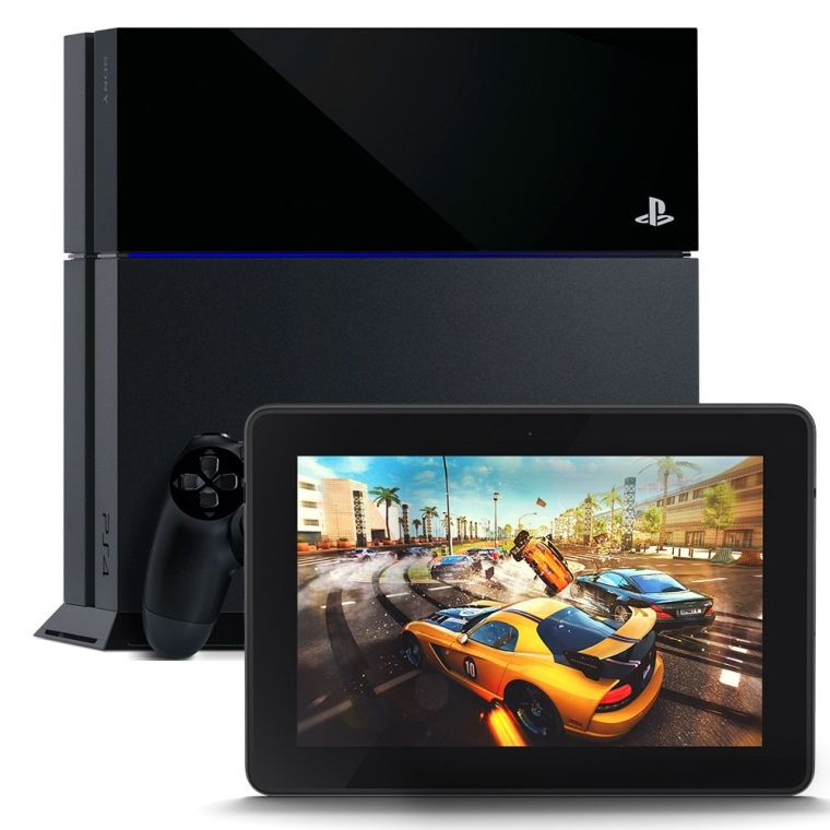 PlayStation 4 and Kindle Fire HDX 7″, HDX Display, Wi-Fi, 16 GB