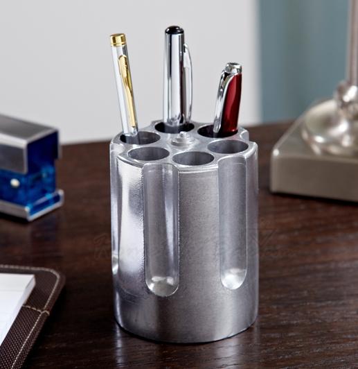 Six Shooter Pen Holder