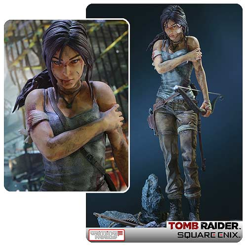 Tomb Raider Lara Croft Survivor 14 Scale Statue