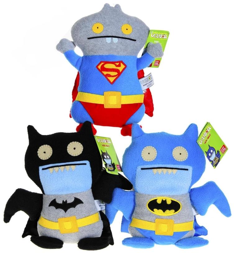 Ugly Dolls _ Trio of 3 Super Heros