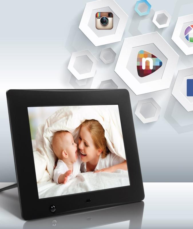 Wi-Fi Cloud Digital Photo Frame