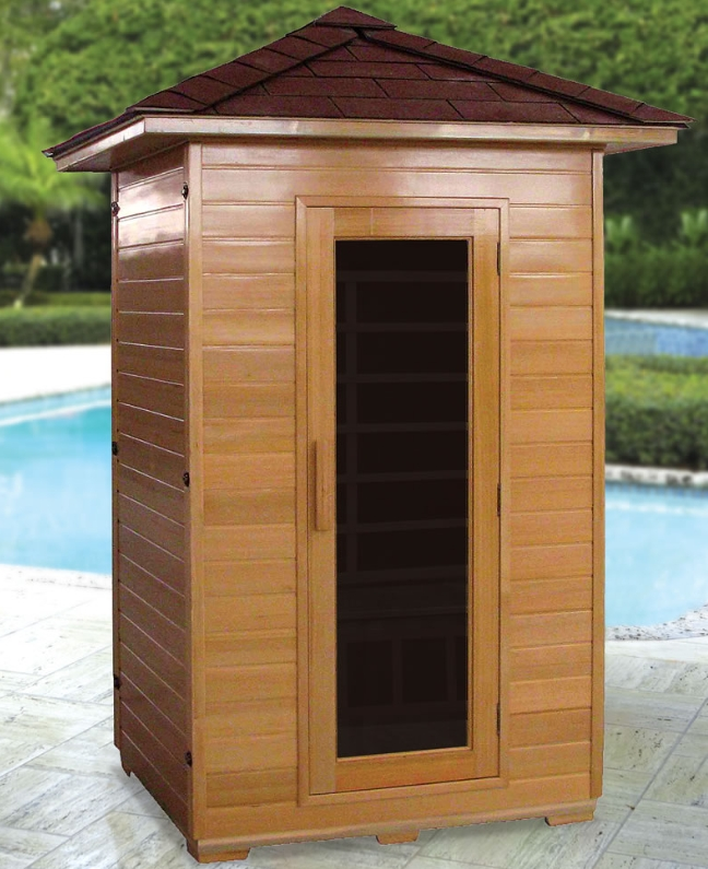 The Outdoor Infrared Sauna