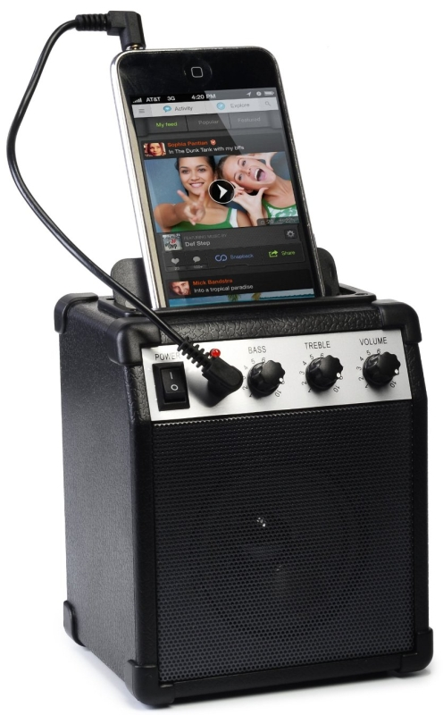 Ivation Portable Mini Amplifier w/Aux In