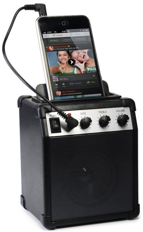 Ivation Portable Mini Amplifier w/Aux In