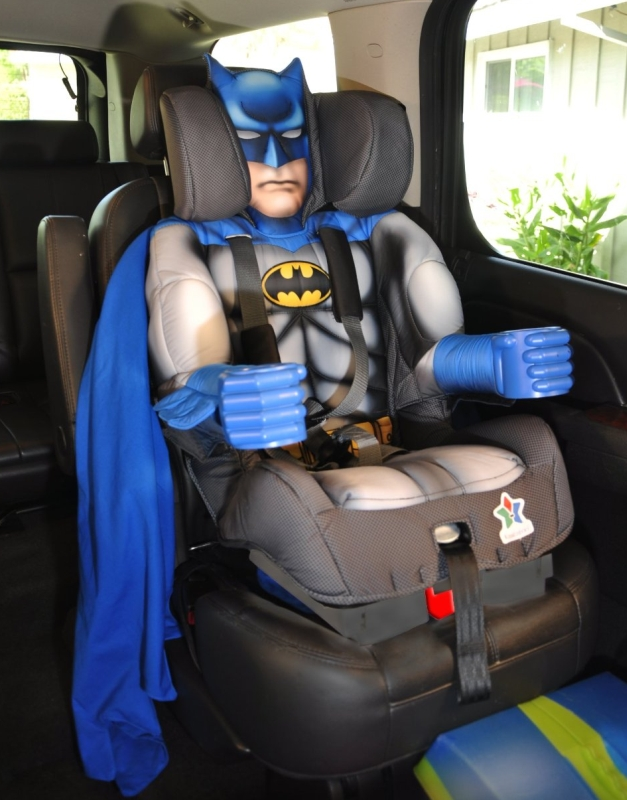 Kids Embrace Batman Toddler Booster Car Seat