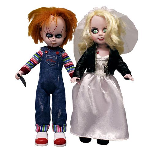 Living Dead Dolls Childs Play 4 Bride of Chucky Chucky and Tiffany Doll