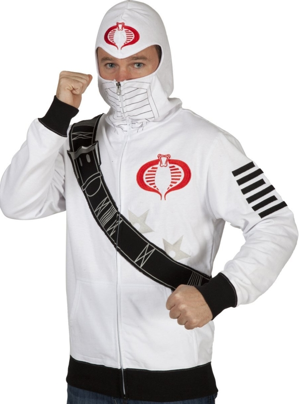 Mad Engine Men's Storm Shadow Costume Hoodie