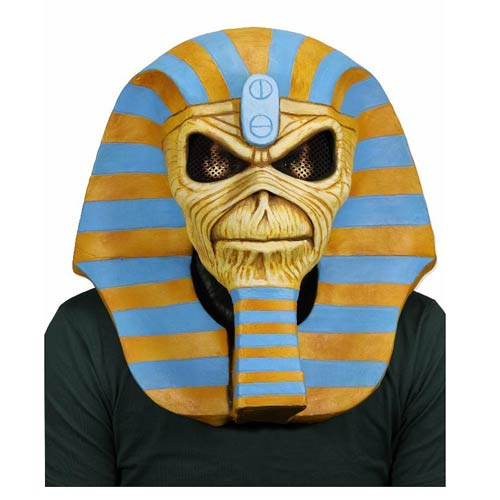 Maiden Powerslave 30th Anniversary Limited Edition Latex Mask