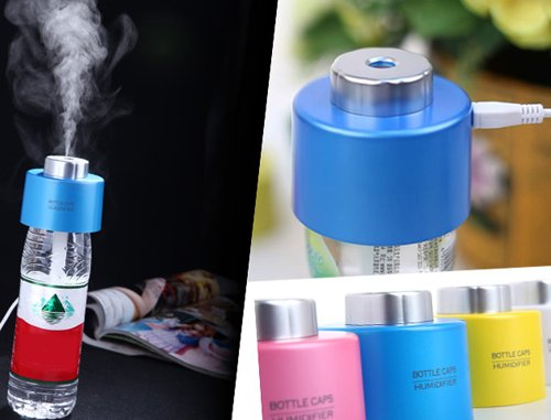 Mini Portable Bottle Cap Air Humidifier