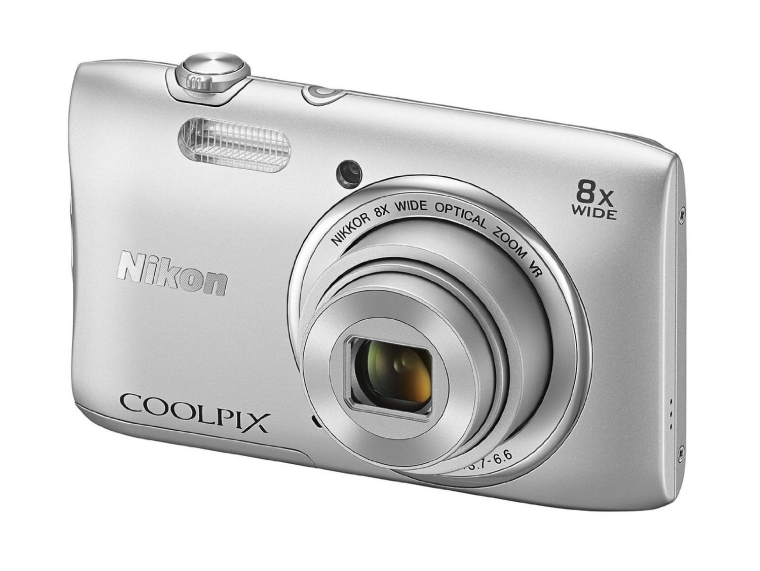 Nikon 26451 20.1MP Digital Camera with 2.7-Inch LCD