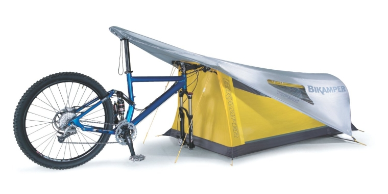 One-Person Bicycling Tent