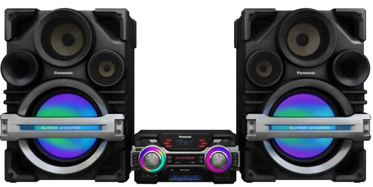 Panasonic SC-MAX650 Extra Large Audio System with Max DJ Effect and Giant 4-Way Speaker Box