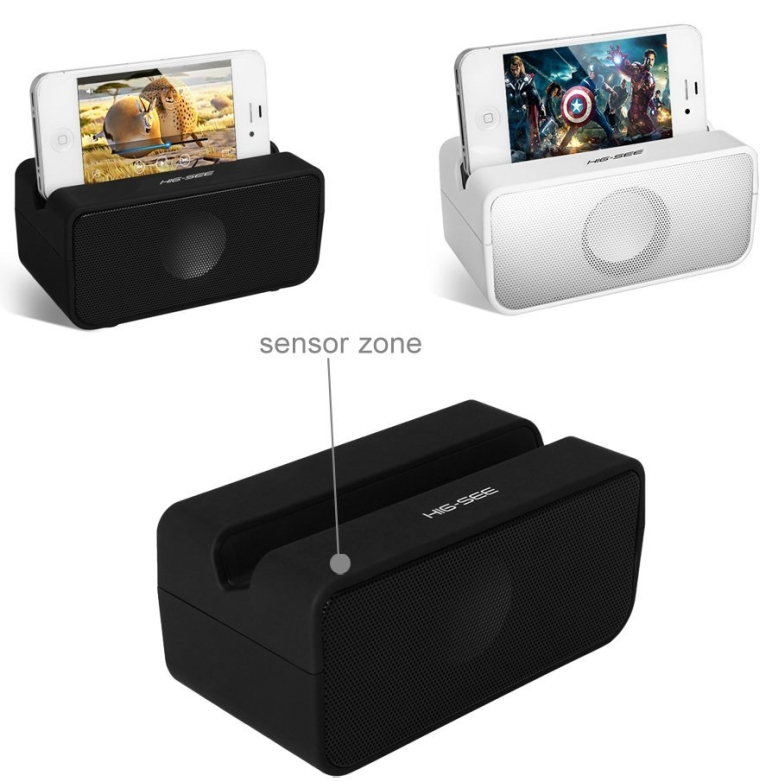 Potable Mini Wireless Magic Mutual Induction Speaker Sound Box