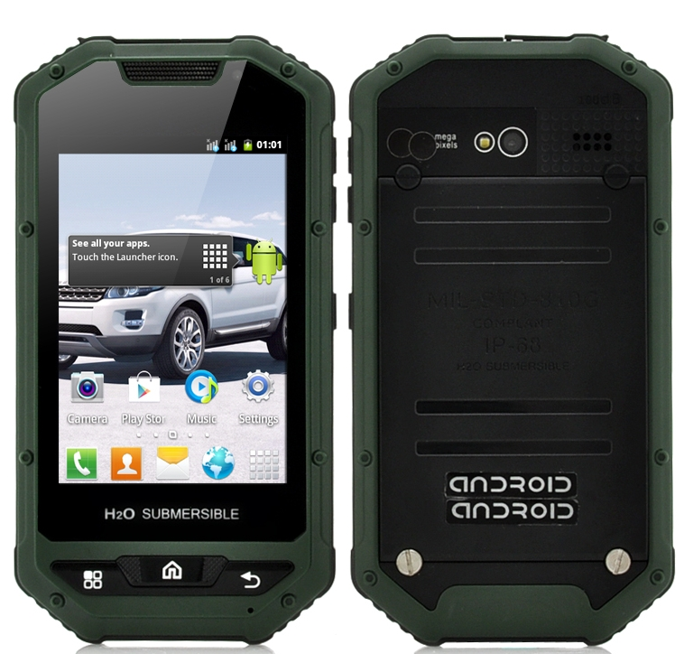 Rugged Android Smartphone Viridion