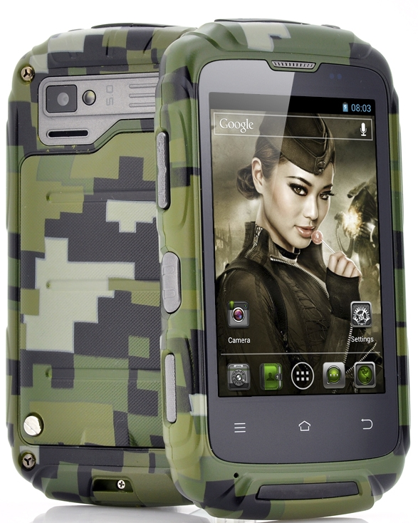 Ruggedized 3.5 Inch Android Phone Lieutenant