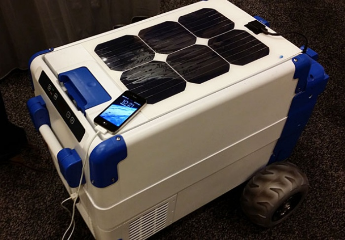 Solar-Cooler