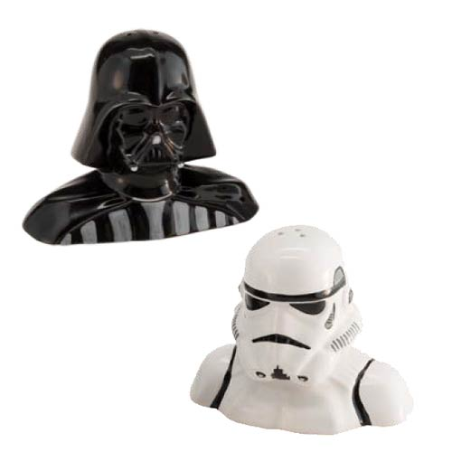 Star Wars Salt and Pepper Shaker Set