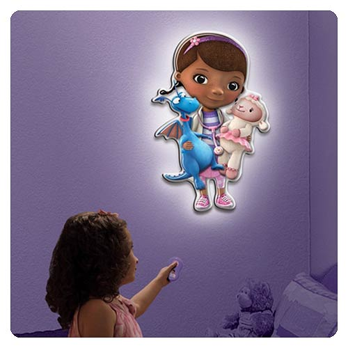 Doc McStuffins Talking Room Light