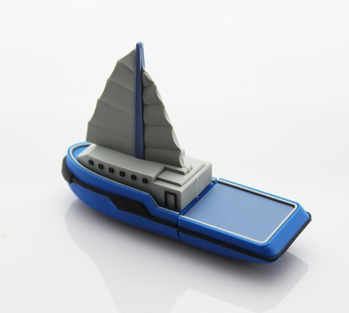 sailboat sailing boat ship USB flash drive
