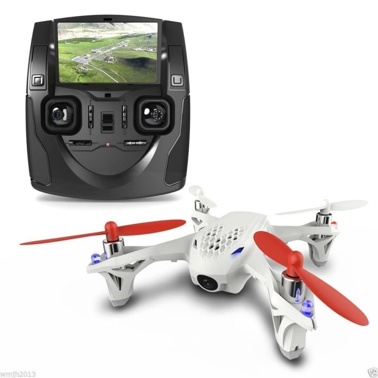 Hubsan Quadcopter LCD Controller Camera Drone
