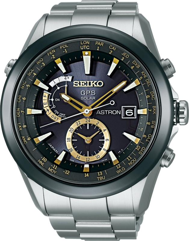 SEIKO Astron GPS Solar Powered Watch