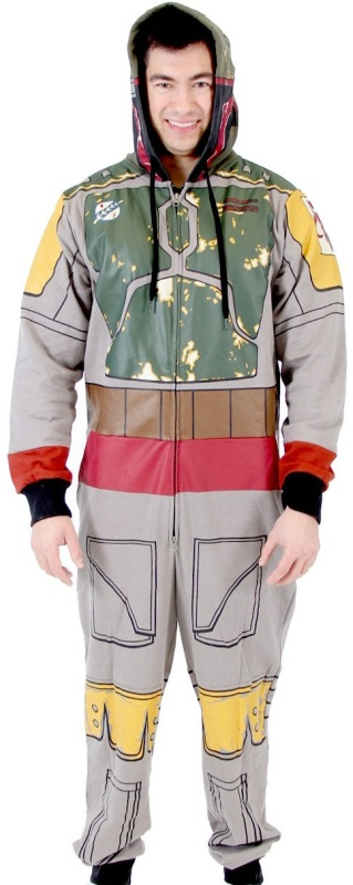 Star Wars Boba Fett Gray Jumpsuit