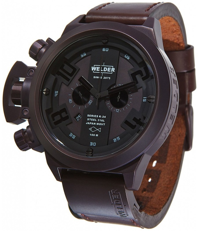 Welder Mens Strap Watch