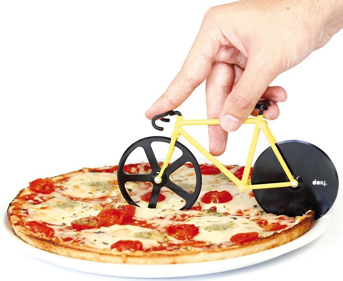 pizza cutter bicycle wheels