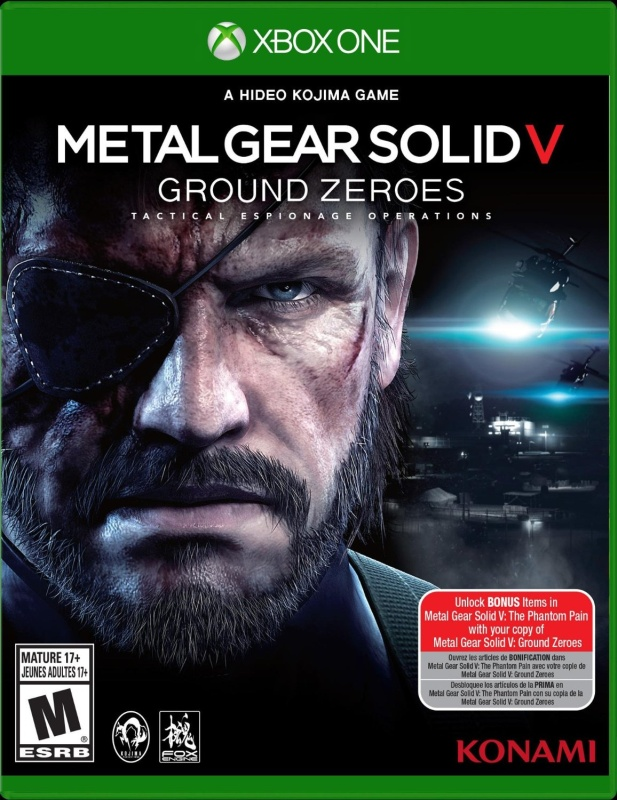 Metal Gear Solid V: Ground Zeroes – Xbox One Standard Edition