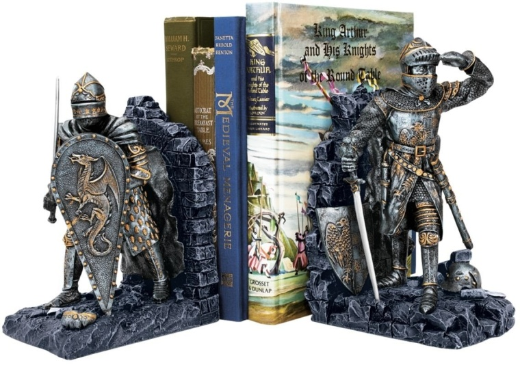 Arthurian Knight Bookend