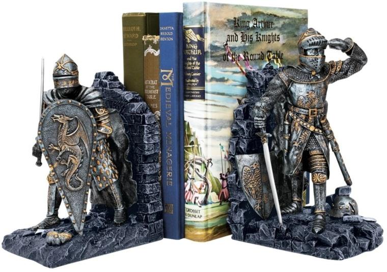 Arthurian Knight Bookend