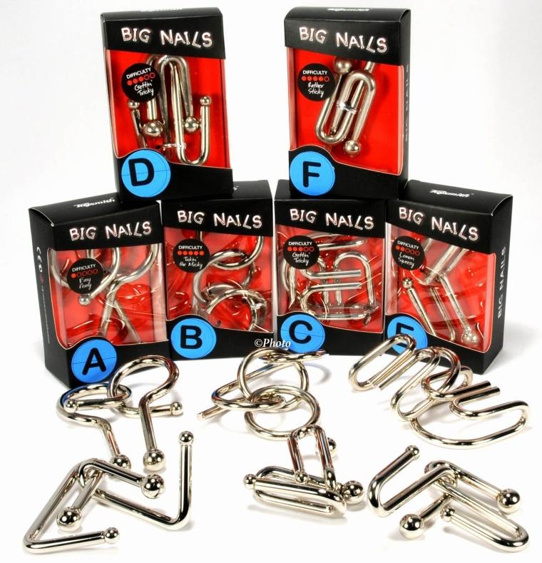 Big Nails Bundle Six Puzzles