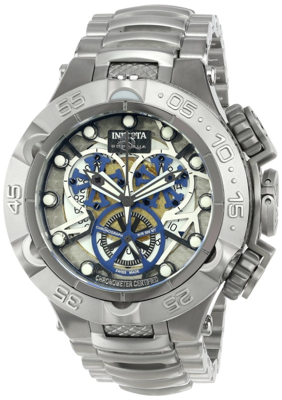 Invicta Mens Silver Watch